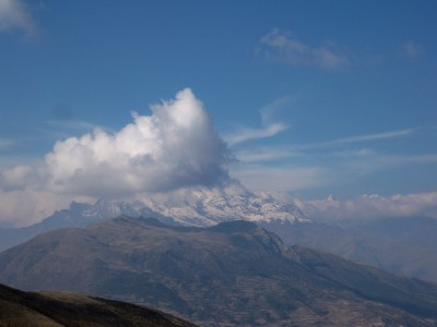 Mountain views near Curahuasi in Peru