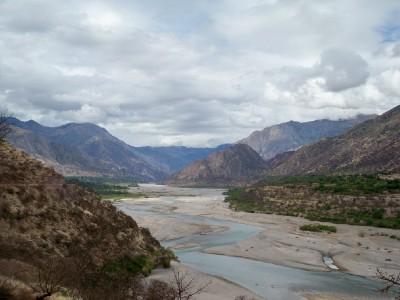 Rio Pampas in Peru