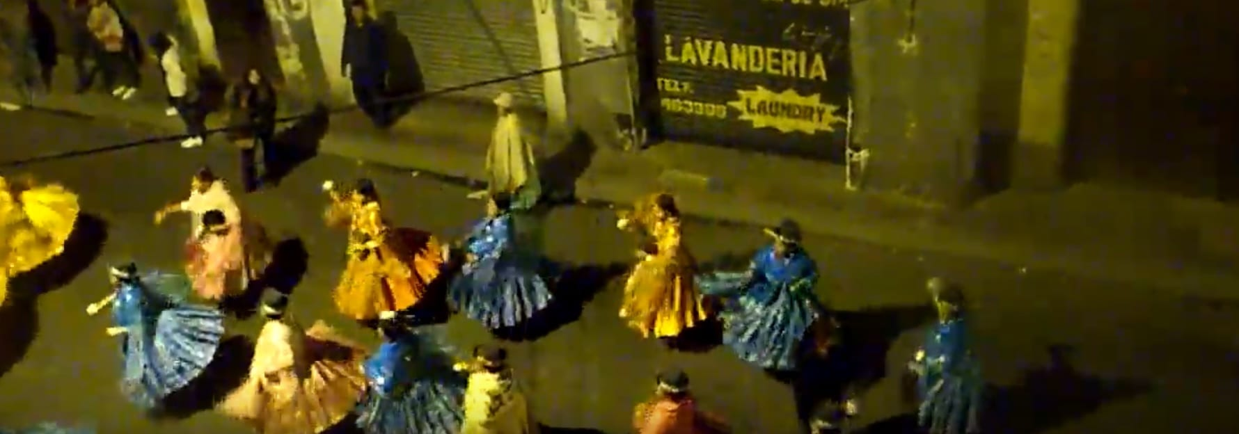 Fiesta in La Paz