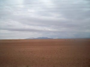 Cycling from Oruro to just before Corque
