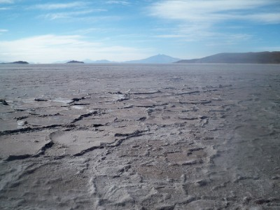 Coipasa Salt Pan in Bolivia