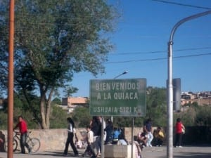 Cycling from nr. Mojo to La Quiaca