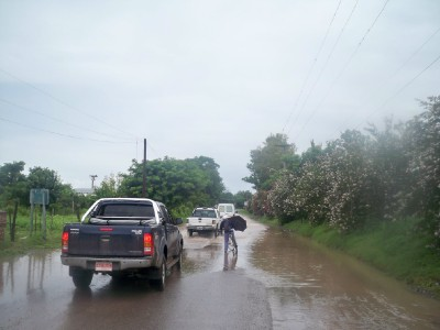 Lots and lots of rain in Salta, Argentina