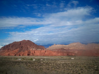 Cycling from Santa Maria to Hualifin in Argentina - Dave's Travel Pages