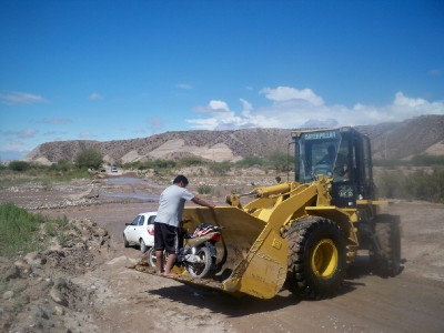 Cycling from Hualifin to Belen in Argentina - Dave's Travel Pages