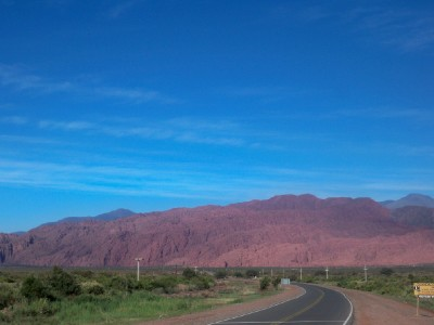 Cycling from Villa Union to near Huaco in Argentina - Dave's Travel Pages