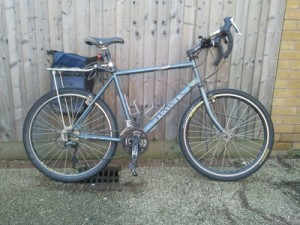 A Training Ride and the Expedition Bicycle