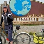 Adventure cyclist Dave Briggs bike touring the PanAmerican Highway