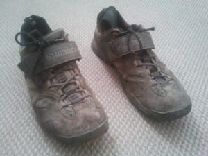 Old Expedition Cycling Shoes