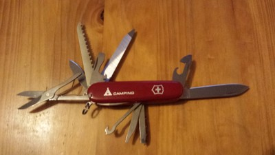 never travel without a swiss army knife