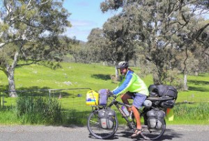 Meet the Cyclists – Ernest Markwood from Africa and Beyond