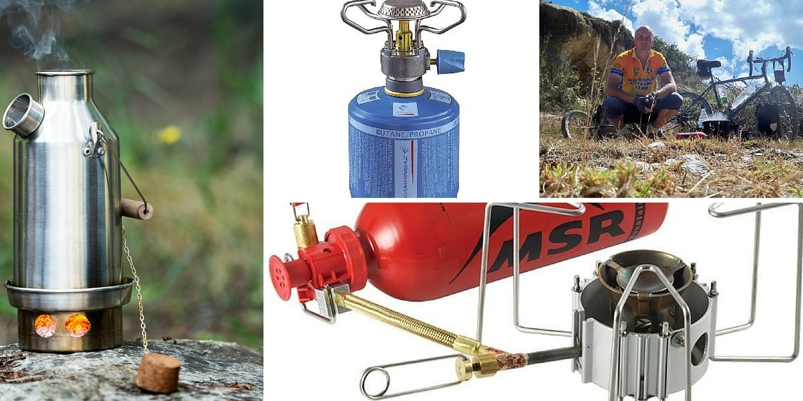 A useful guide on how to choose a camp stove for bicycle touring