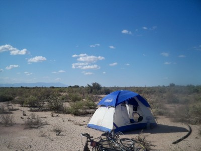 Cycling from San Juan to Wild Camp in Argentina - Dave's Travel Pages