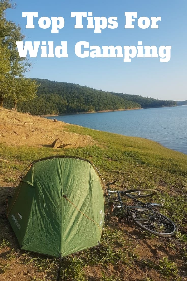 My top tips for wild camping. Enjoy the great outdoors more and travel cheaper by wild camping on your next bike tour. Here's how.