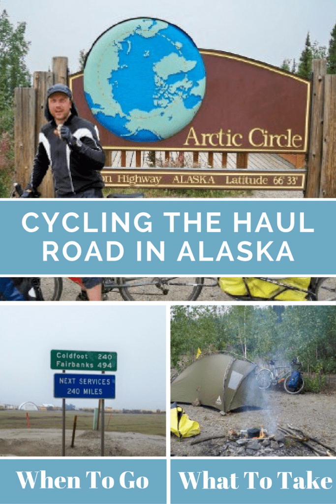 Cycling the Haul Road in Alaska. All you need to know from what to take, to which direction to cycle in! read all about it in the full article.