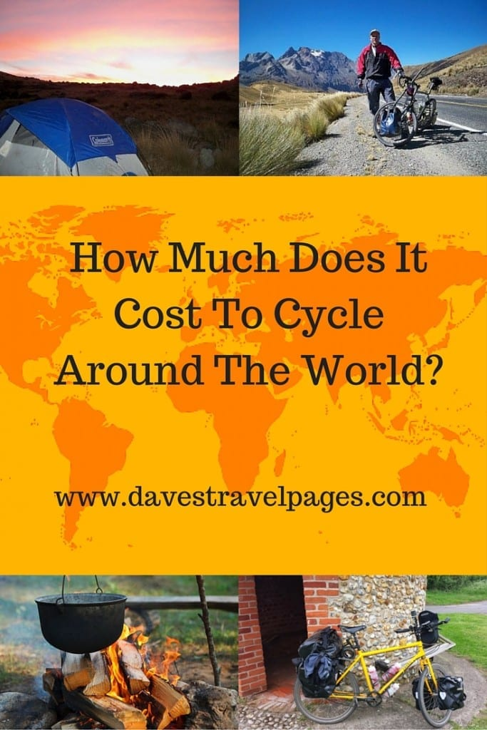 How much does it cost to cycle around the world? It can be a LOT cheaper than you might think!
