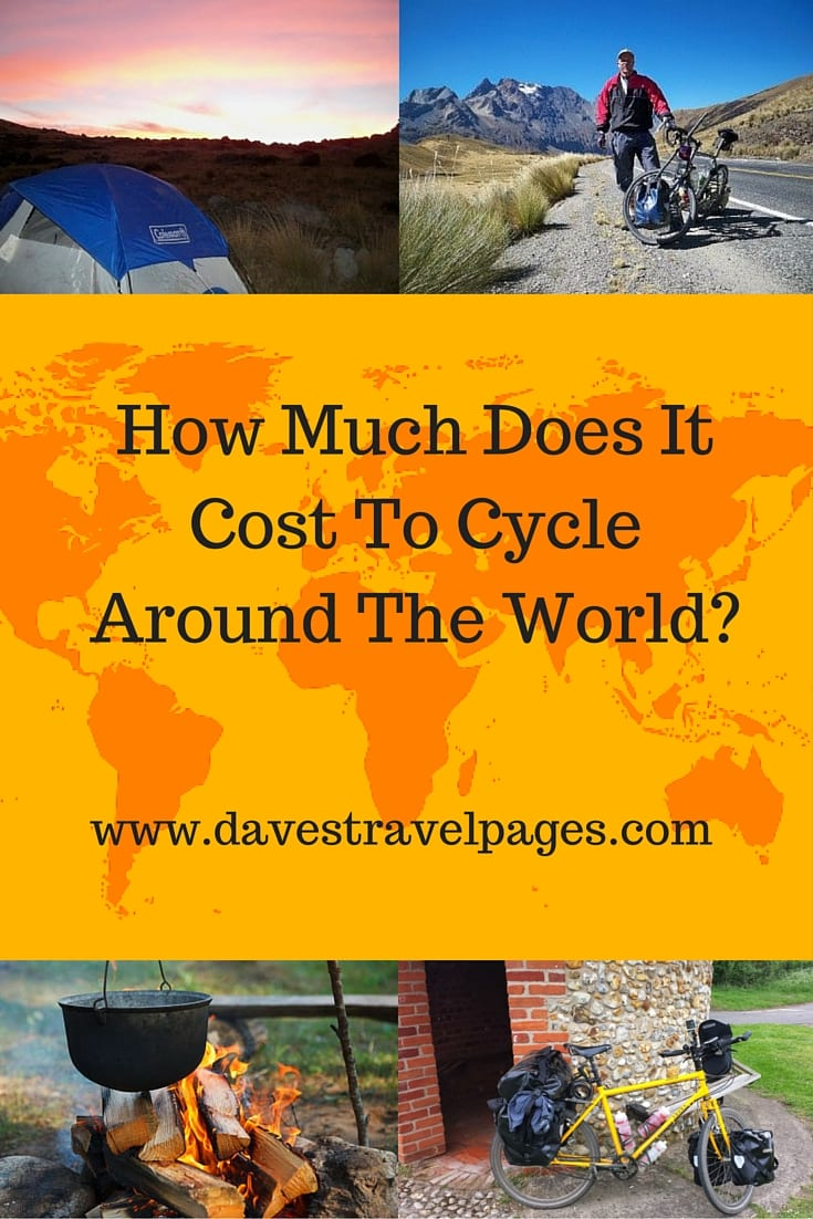 how much does it cost to travel around the world on a bicycle. Black Bedroom Furniture Sets. Home Design Ideas