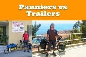 Panniers vs Trailers for bike touring: Which one is the best for you?