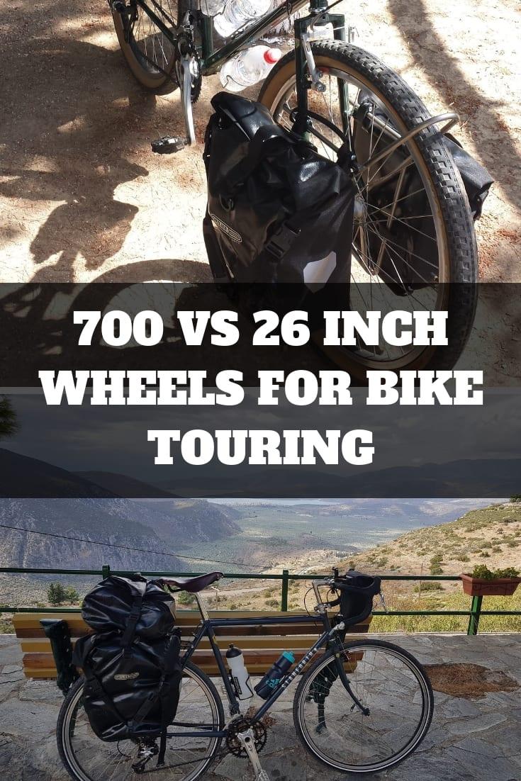 700 vs 26 Inch Wheels for Bike Touring