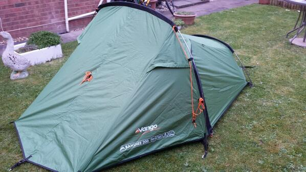 a tent on the bicycle touring gear list