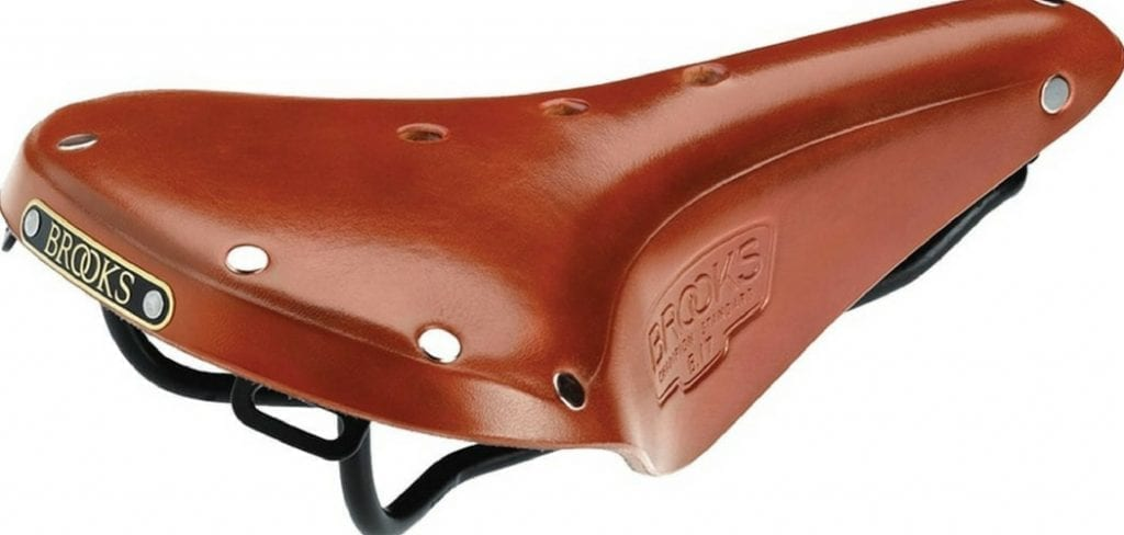 The classic B17 Brooks saddle for touring in a lovely Honey colour