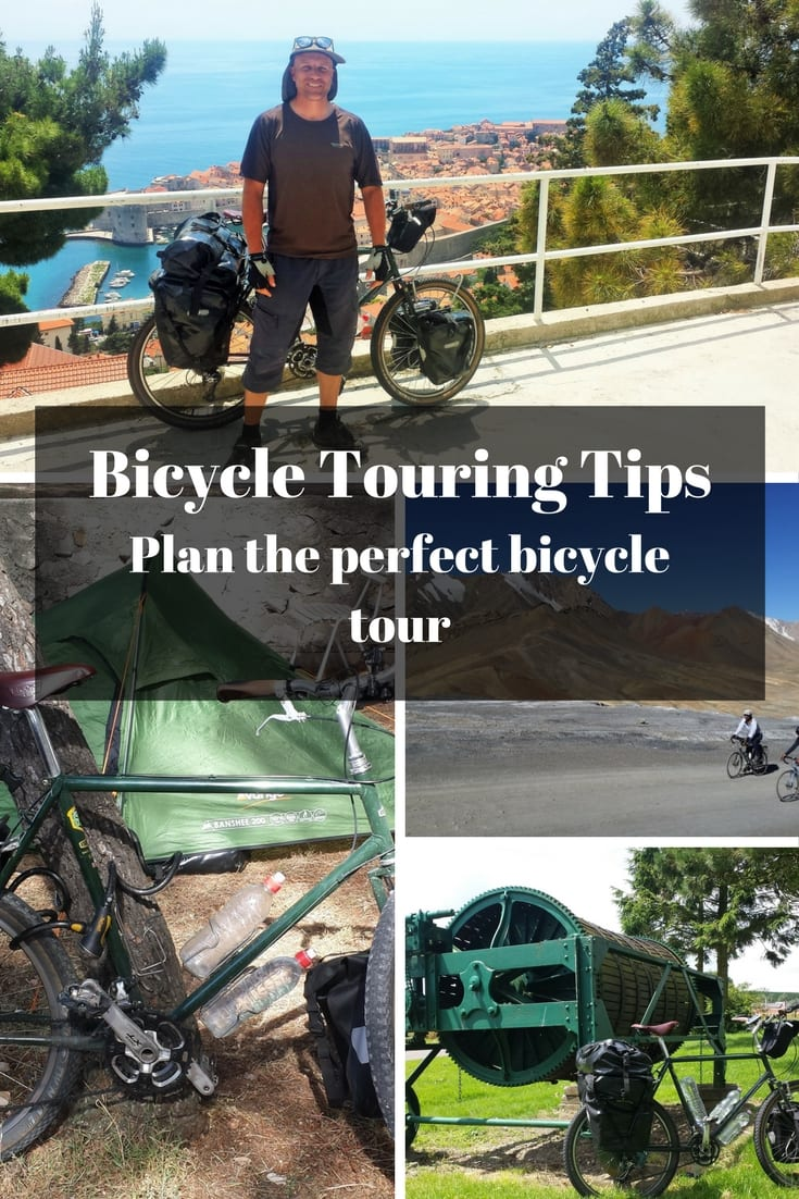 Bicycle Touring Tips - Plan the perfect bicycle tour