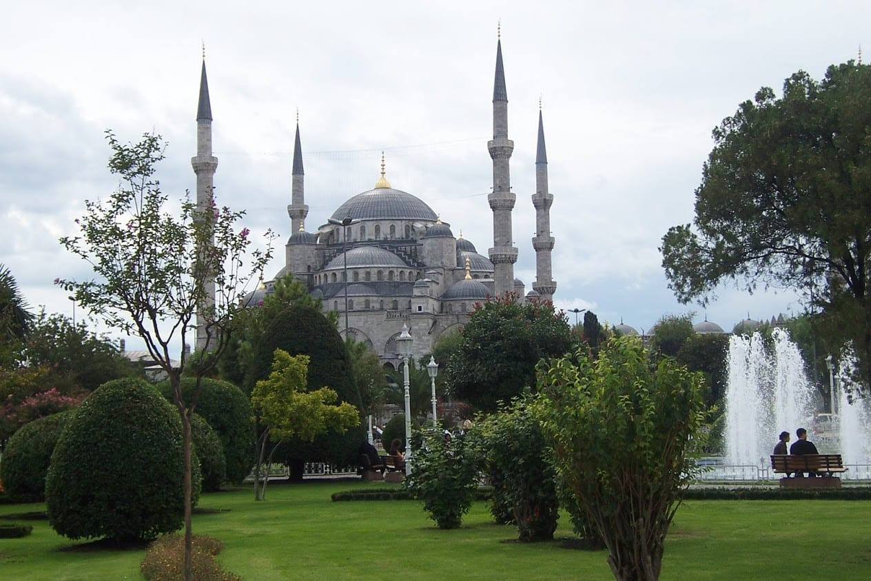 Spending time sightseeing in Istanbul