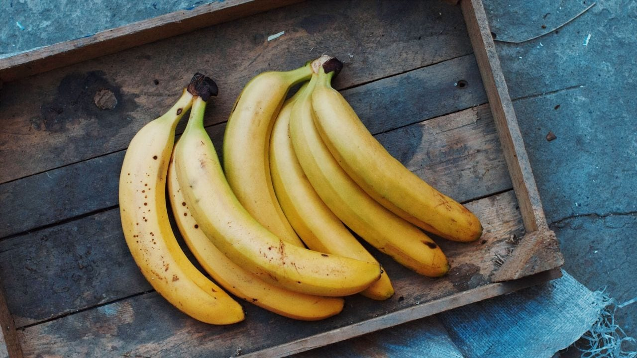 Bananas are a good food for bikepacking