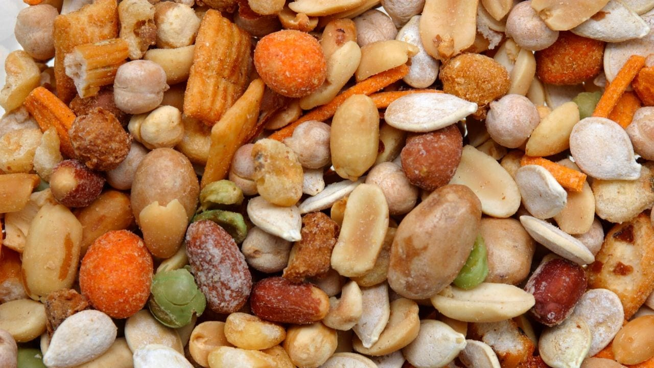 Trail mix for bicycle touring