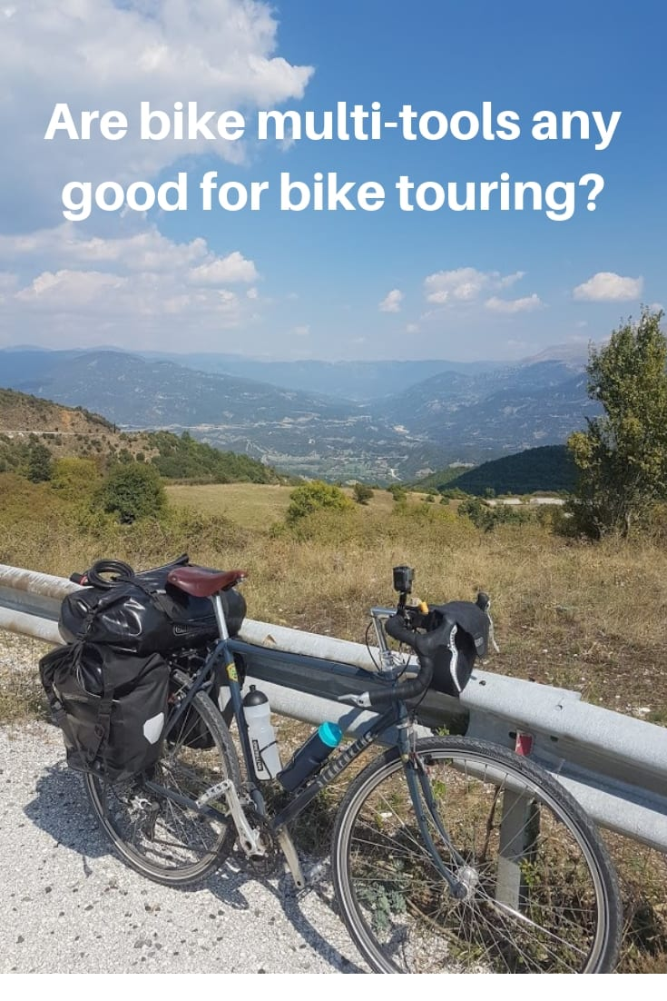 Bike Tours- Tips and advice. A look at if multi-tools are any good for bike touring.