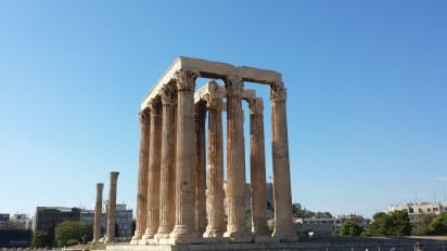 One of the great things about TBEX Athens, was that it afforded me the chance to see some historical sites I had never visited before.