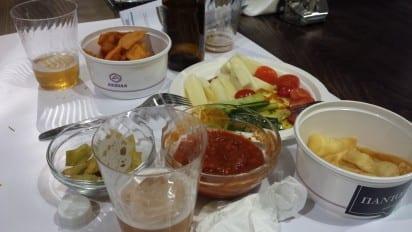 I love the range of Greek food