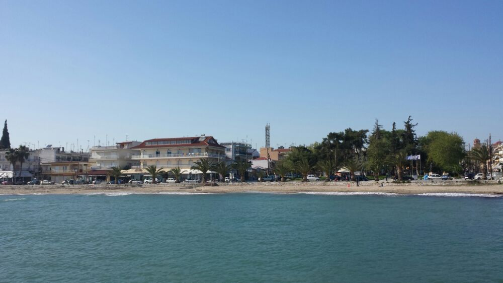 beach near Thessaloniki