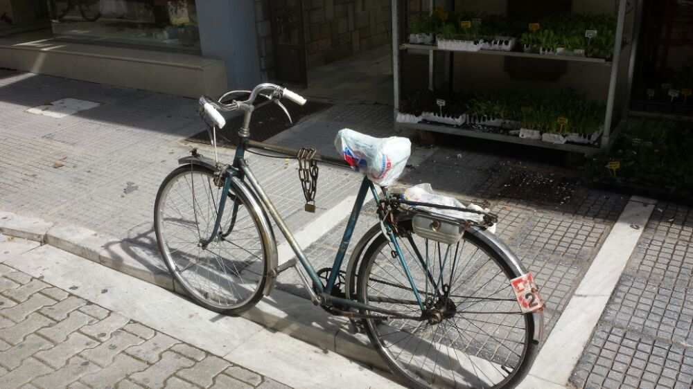Bicycle in Trikala