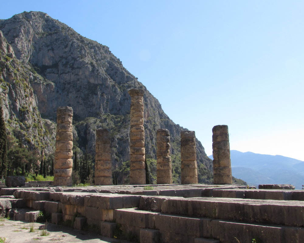 The UNESCO World Heritage Site of Delphi