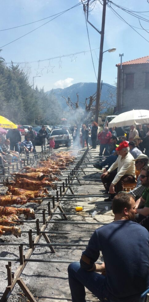 Easter in Arachova