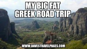 My Big Fat Greek Road Trip