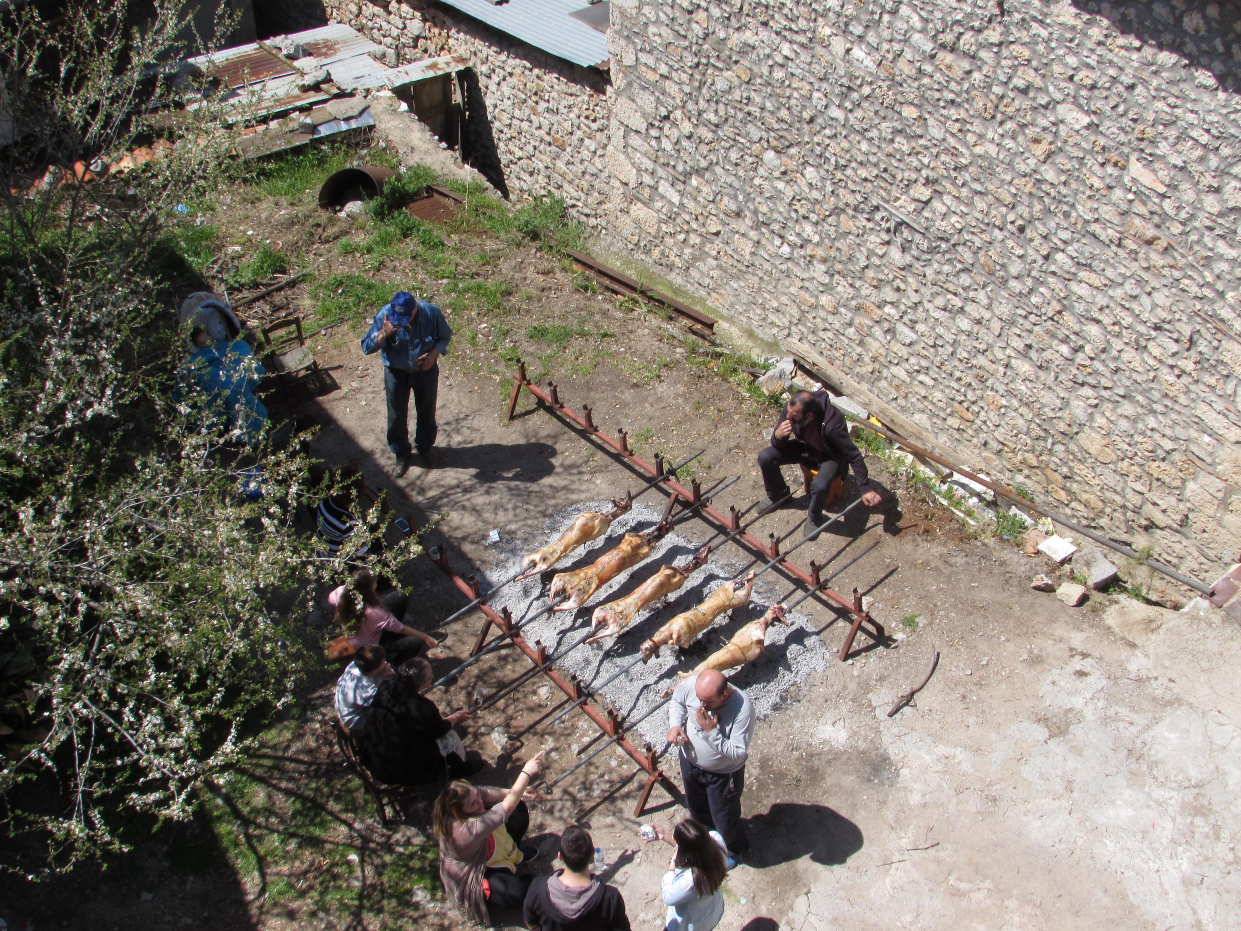 Greek Easter in Arachova