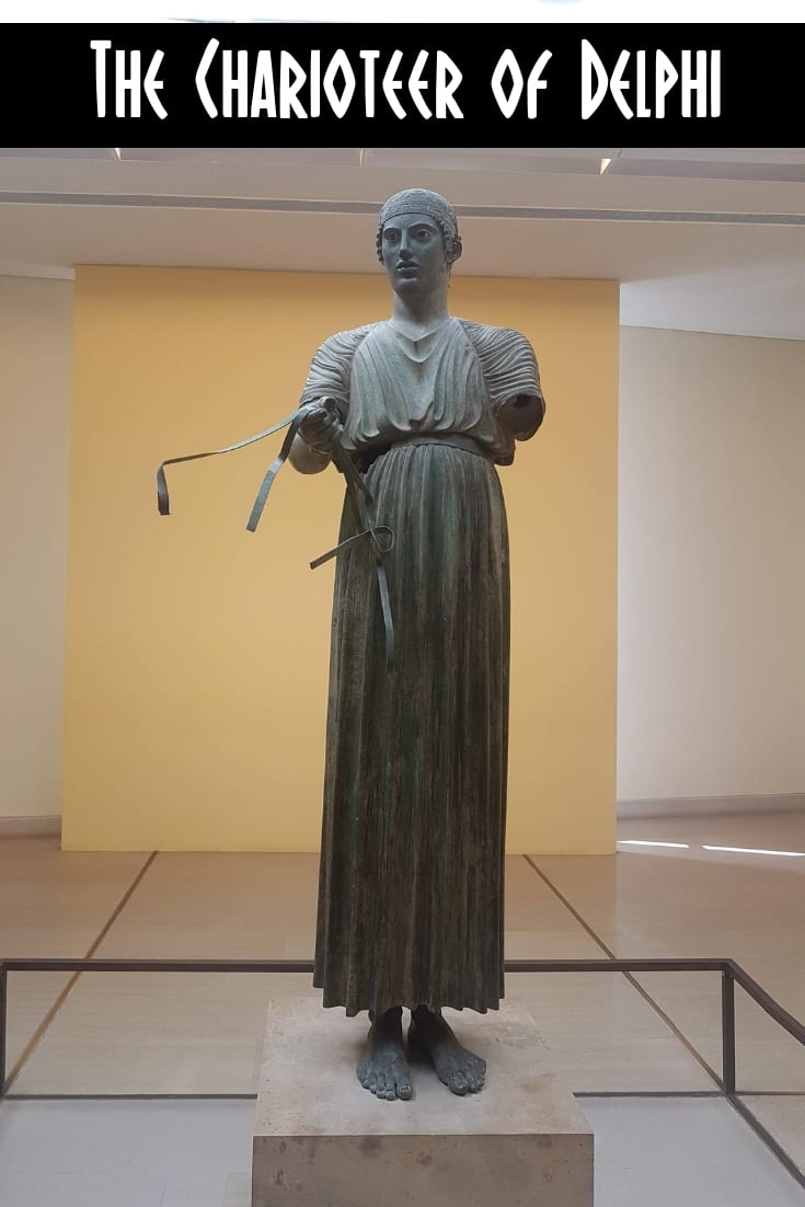 The Charioteer of Delphi in the Archaeological Museum of Delphi