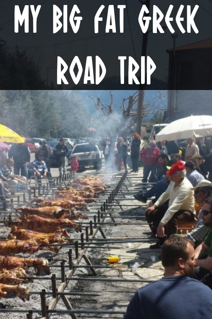 My Big Fat Greek Road Trip - A 1500 km road trip through Greece to see Delphi, Meteora, Thesaloniki and more.