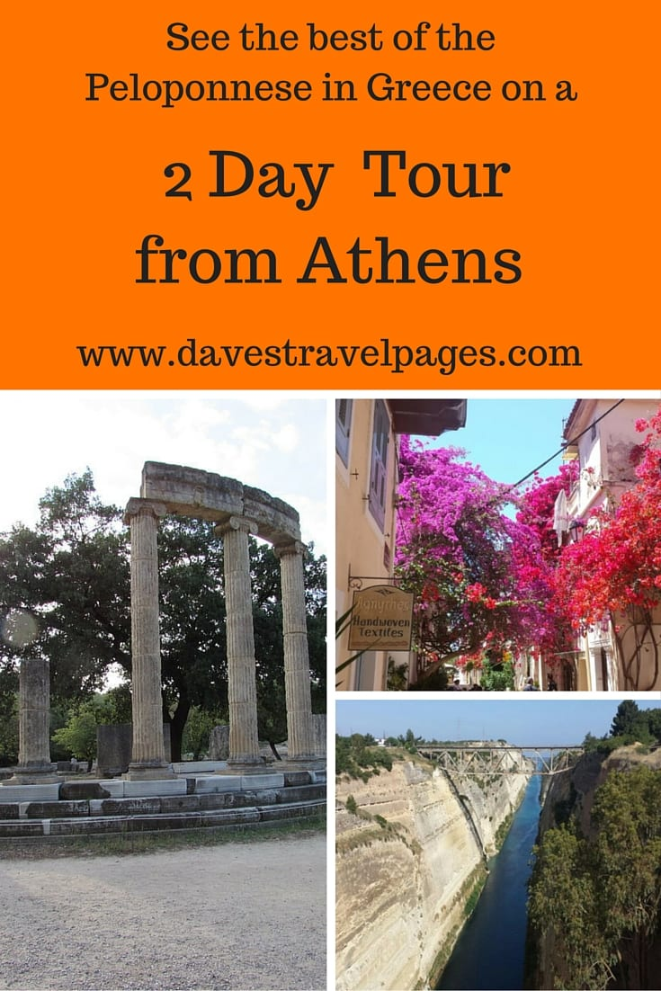 See the Best of the Peloponnese during a 2 day tour from Athens. During the 2 day Peloponnese tour, you can visit Corinth, ancient Olympia, beautiful Nafplio, and also drop by a winery to sample some local wine. Read the full article for more travel inspiration.