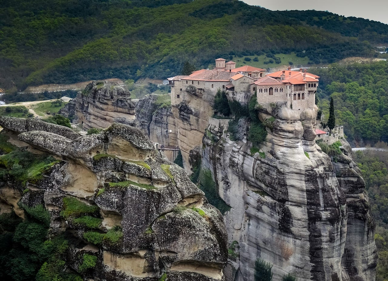 The Varlaam Monastery in Meteora, Greece
