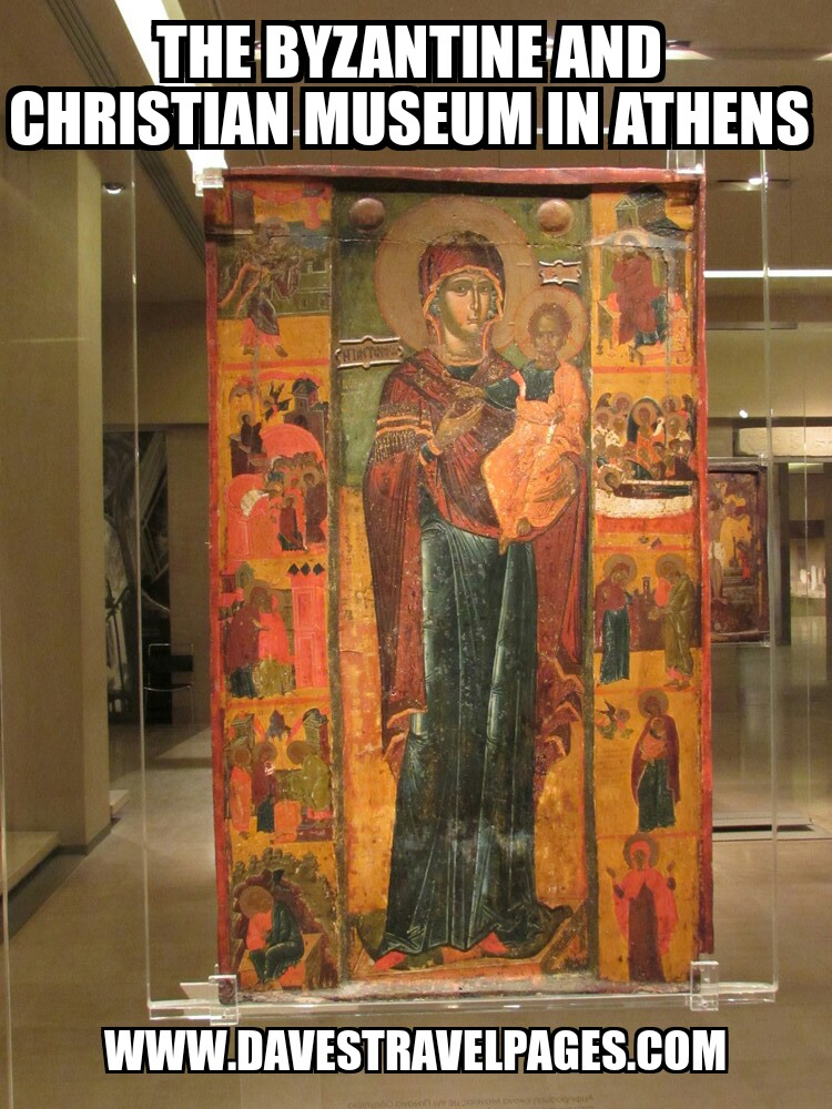 The Byzantine and Christian Museum in Athens