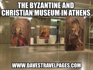 The Byzantine museum in Athens contains an impressive array of artworks dating from the beginning to the end of the Byzantine empire