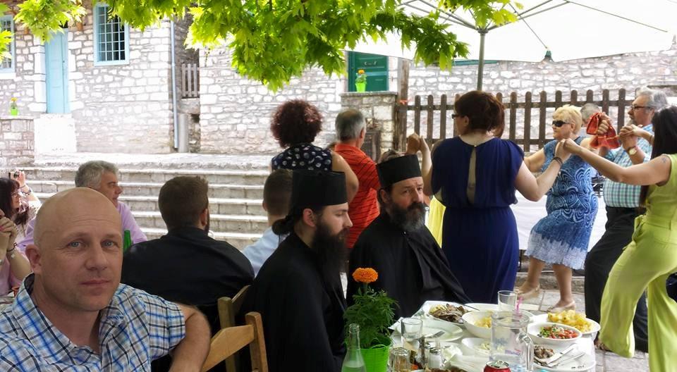 christening in greece