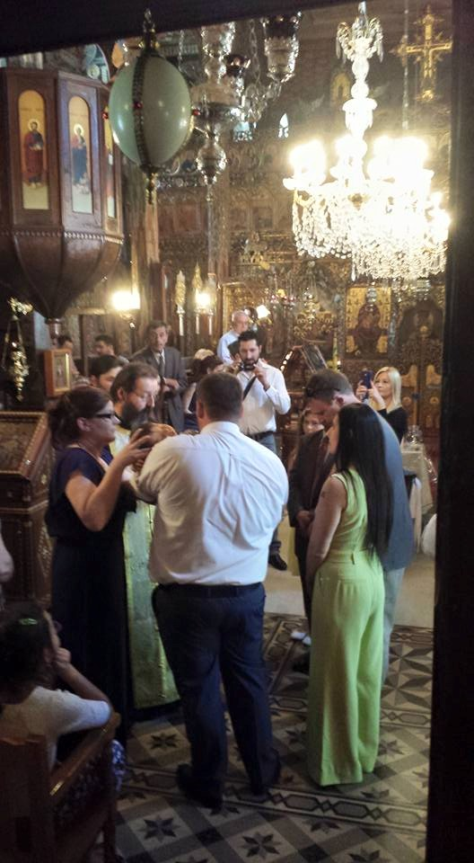 Attending a Christening in Greece