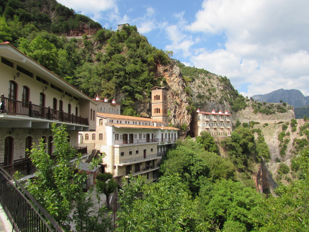 The Proussos Monastery in Greece