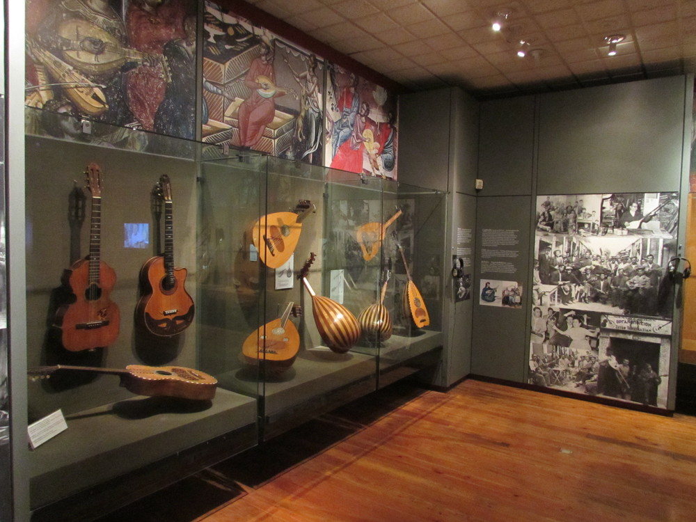 The music museum in Athens Greece
