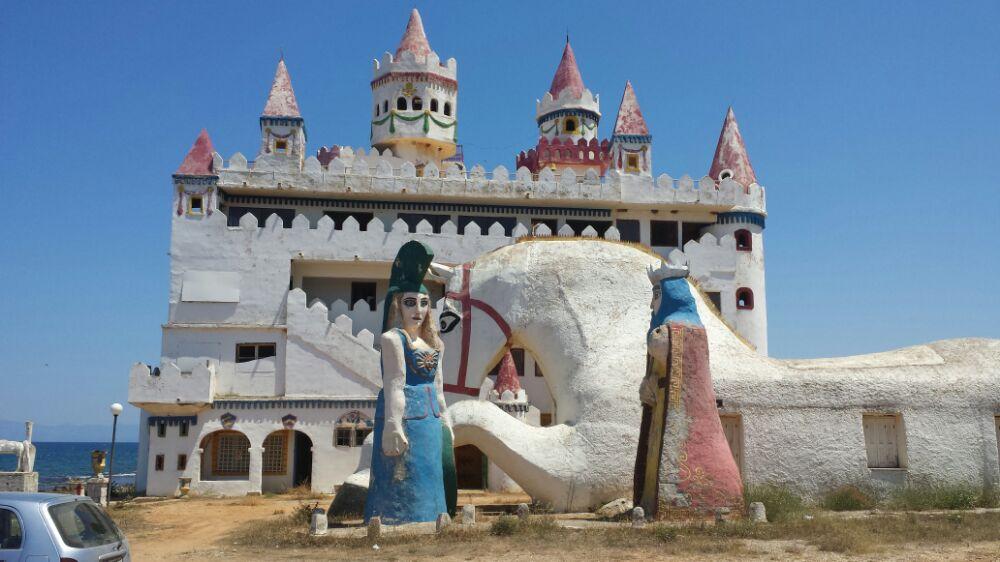 Fairy tale castle in peloponnese