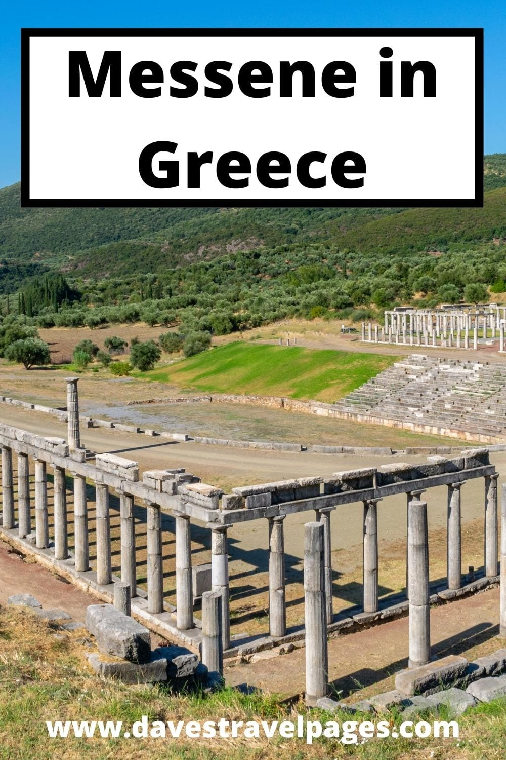 Ancient Messene in Greece
